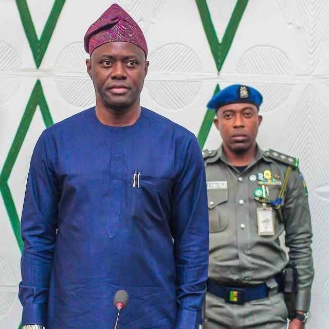 Governor Seyi makinde, man of the masses