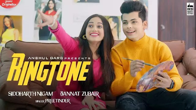 RINGTONE Lyrics -Hindi -Rajat Nagpal Ft. Jannat Zubair