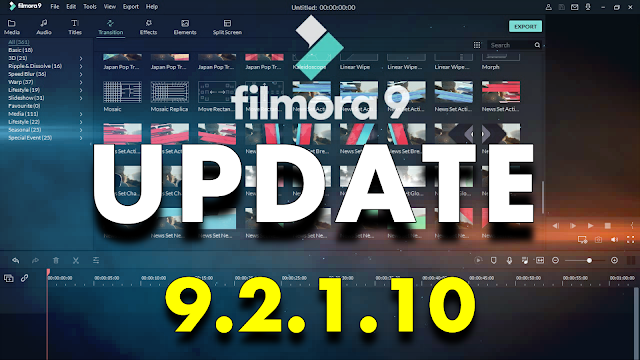 What's New In Wondershare Filmora 9.2.1.10 + Effects Packs