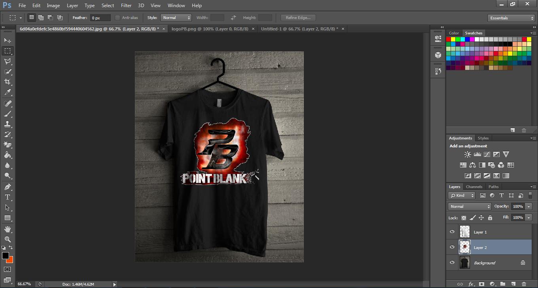 Cara Desain Baju/Kaos Di Photoshop Cs6 || Feb14-XTF ...