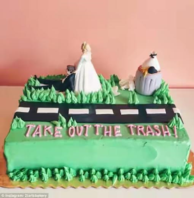 divorce cakes photos
