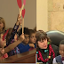 Boy gets support from entire kindergarten class during his adoption hearing