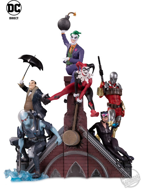 Toy Fair 2020 DC Direct Lineup Batman Rogues Gallery Multi-Part Statue