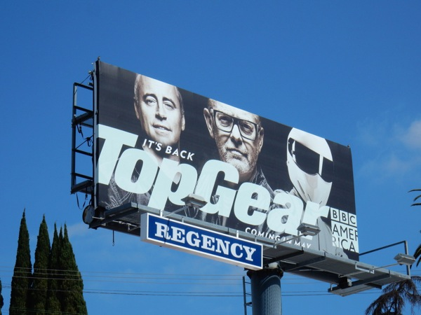 Top Gear season 23 BBC billboard