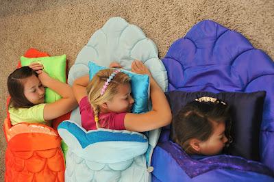Enchantails Mermaid Slumber Bag Exclusive Holiday Giveaway
