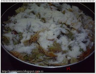 Pasta con verduras / Fue un día como hoy