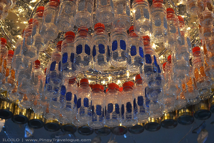 Simple, artistic, and eco-friendly chandelier.