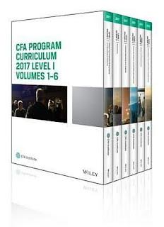 CFA Program Curriculum 2017 Level I, Volumes 1 – 6