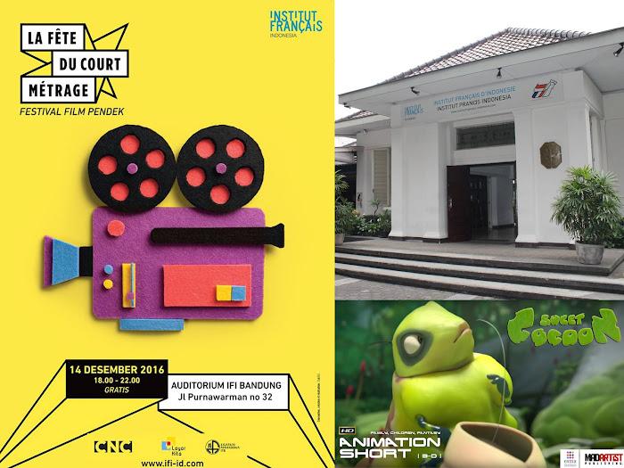 Festival Film Pendek IFI Bandung 14 Desember 2016
