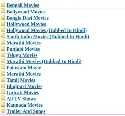 Jalshamoviez movie categories