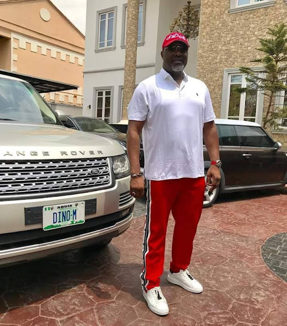 Dino Melaye Shares Throwback Photo Of Him Being Arrested By Police During Protest 7 Years Ago