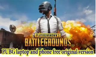 PUBG laptop and phone free original version 2021, pc, mobile