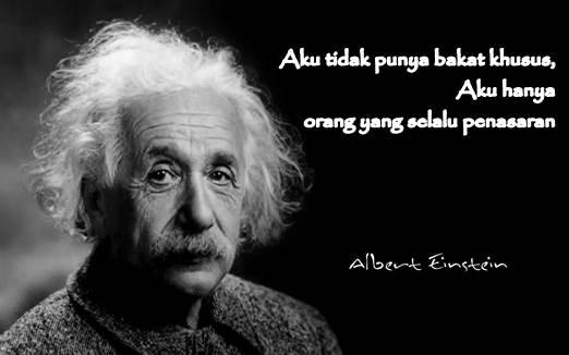 Albert Einsteian dan rahasia tips menuju sukses dari Albert Einstein