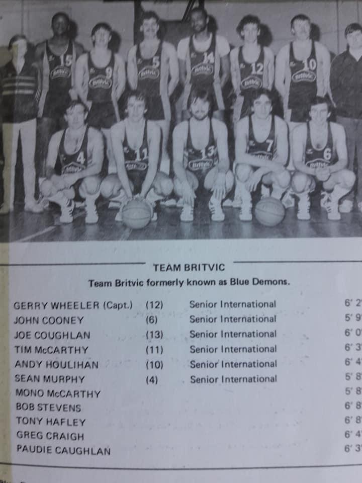 A Little Bit Of Irish Basketball History Cork Blue Demons
