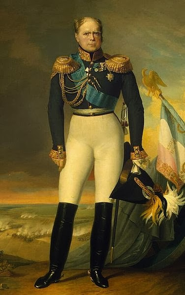 Grand Duke Constantine Pavlovich of Russia by George Dawe, 1834