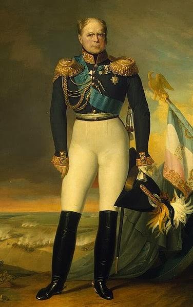 Grand Duke Constantine Pavlovich of Russia by George Dawe, 1834