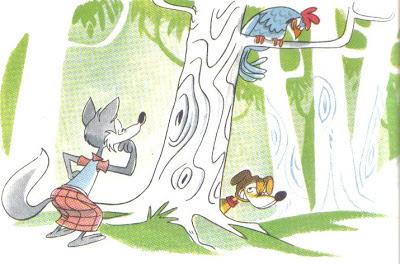 fabula corta el perro el gallo y la zorra