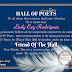 HALL OF POETS FRIEND OF THE MONTH AWARD, MAR-MAY 2016