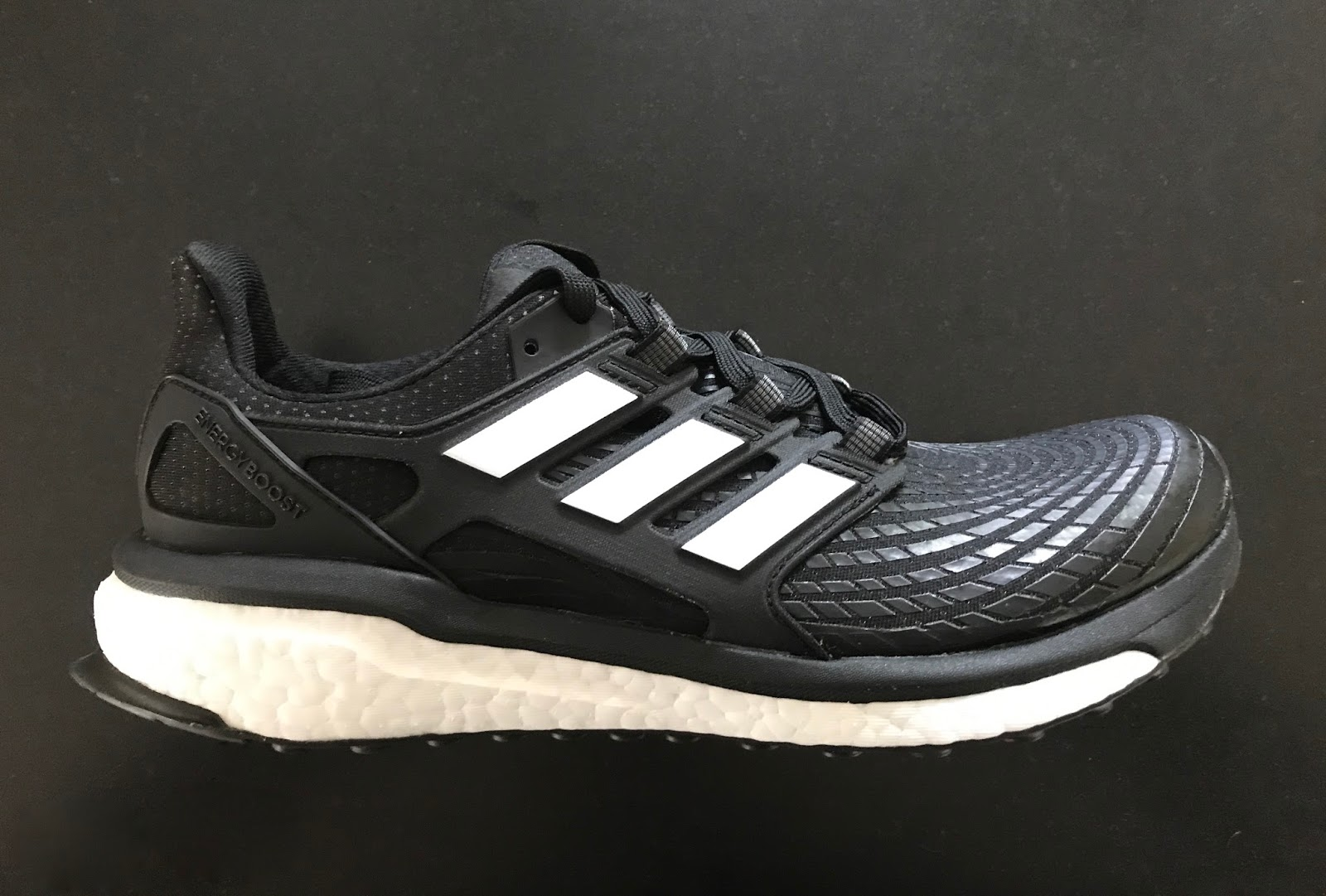 check out e2ddd edf9d The adidas Energy Boost 2017 edition is a heavily cushioned premium neutral  daily trainer. It is now called Energy Boost with no numbering after as ...