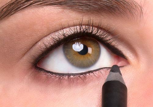 Cómo delinear ojos muy grandes