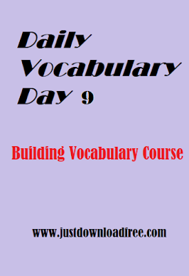 Easy tricks for vocabulary learning day 9