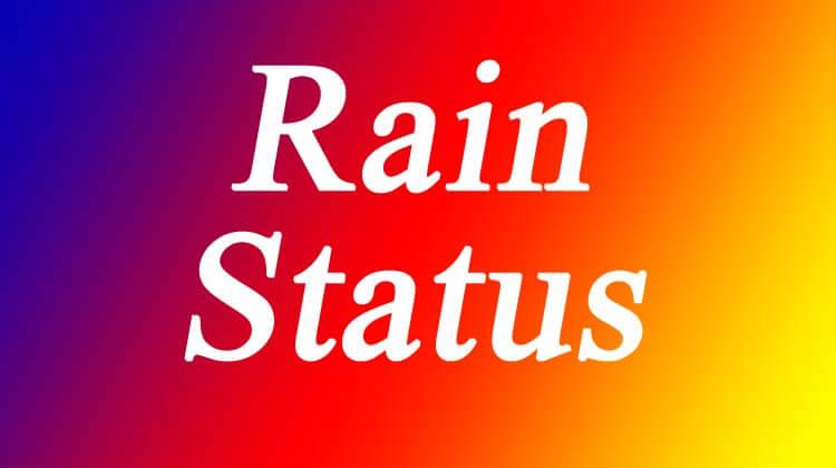 Rain Status