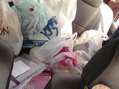 chempaka mohd din dengan hasil tangkapan shopping