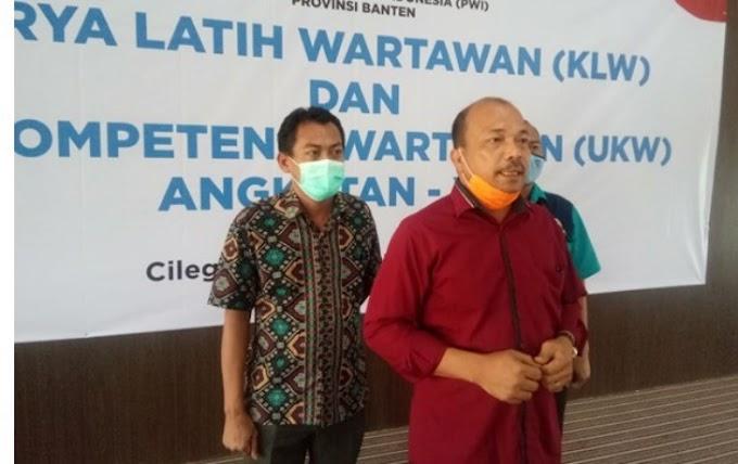PWI dan SMSI Banten Himbau Pers Jaga Kondusifitas
