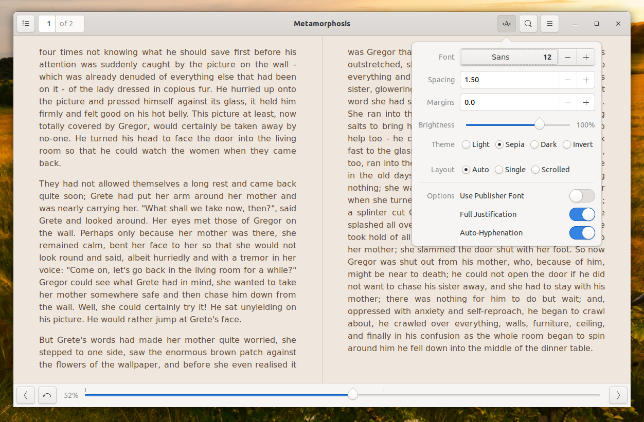 Foliate Linux eBook Reader 1 4 0 Includes Wikipedia Lookup