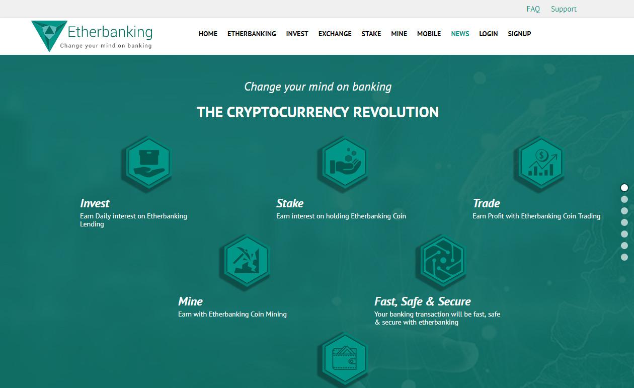 Có nên đầu tư ETHERBANKING không ? Etherbanking là gì ??