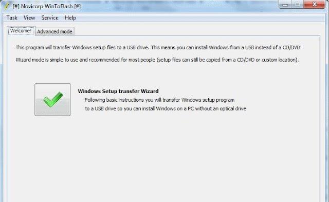 WinToFlash 1.13.00.00 - Create Windows 10