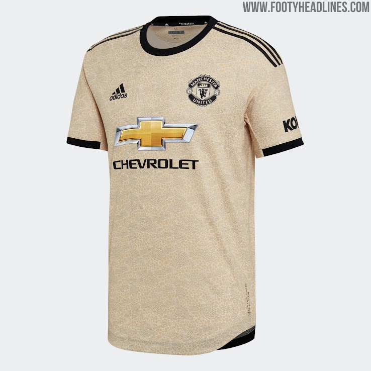 super popular 4787a 4e23e Manchester United 19-20 Away Kit Released - Footy Headlines