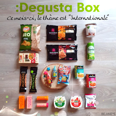 "Unboxing DegustaBox ""l'Internationale"""