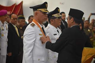 Walikota Padang Periode 2019-2024 Dilantik Gubernur Sumbar