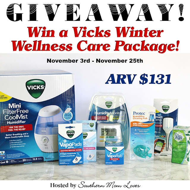 Vicks Winter Wellness Care Package Giveaway