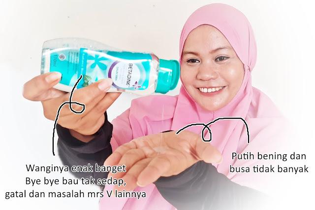 feminime betadine wash