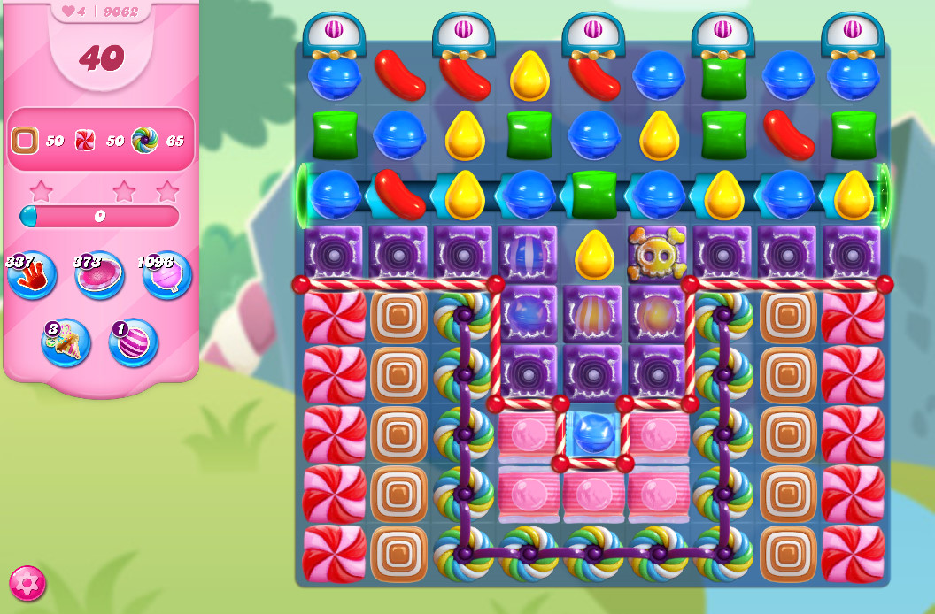 Candy Crush Saga level 9062