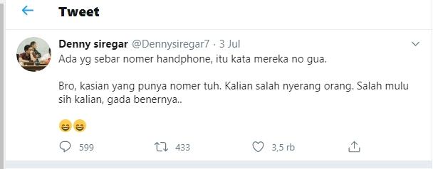 Denny Siregar Tuntut Telkomsel