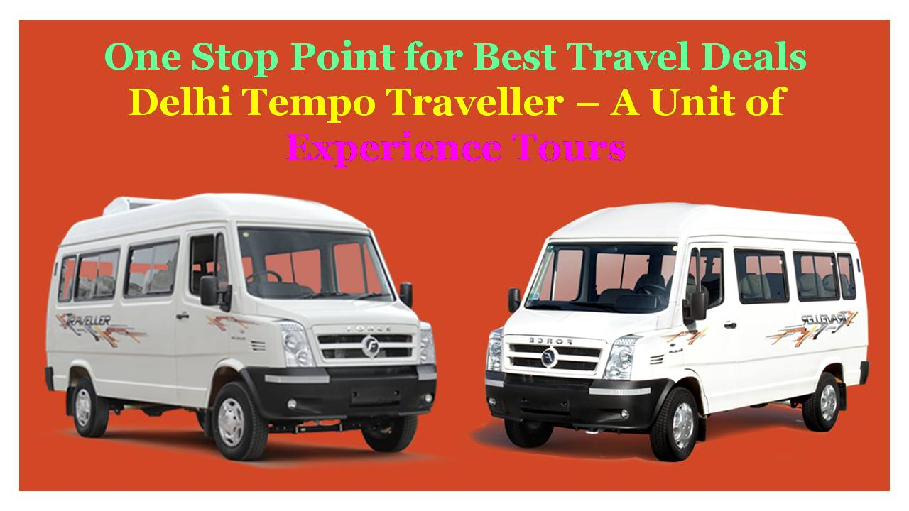 Best Rates for 26 Seater Tempo Traveller Rental Delhi