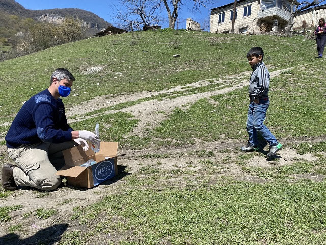 The HALO Trust ayuda otra vez a Nagorno Karabakh