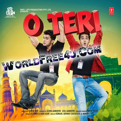 Poster Of Bollywood Movie O Teri (2014) 300MB Compressed Small Size Pc Movie Free Download worldfree4u.com
