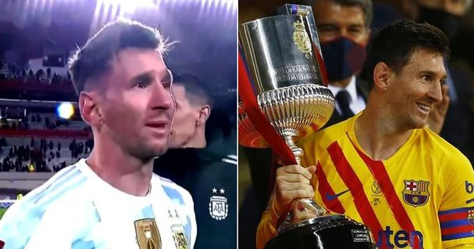 PSG forward Messi compares winning multiple titles with Barca and winning Copa with Argentina