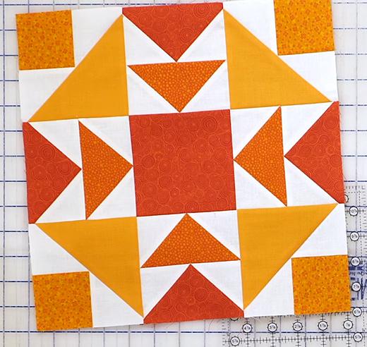 Tiramisu Quilt Block Free Tutorial designed by Jennifer Bosworth of Shabby Fabrics