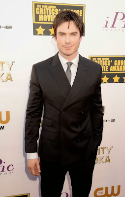 Ian Somerhalder Critics Choice Movie Awards 2014