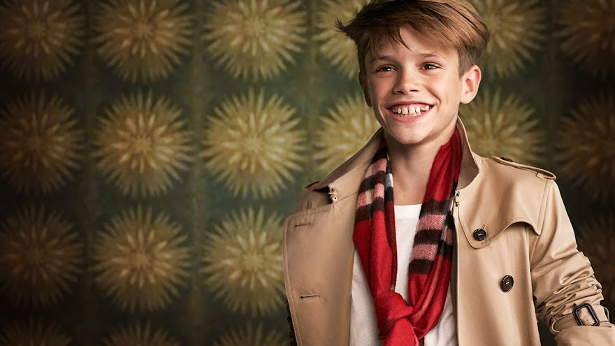 Romeo Beckham as Billy Elliot In The Burberry 2015 Holiday Christmas Ad