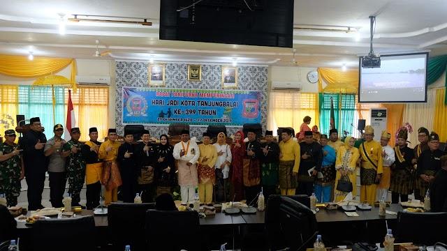 Kapolres Tanjung Balai Hadiri Rapat Paripurna Istimewa DPRD Dalam Rangka Hari Jadi Kota Tanjungbalai ke - 399