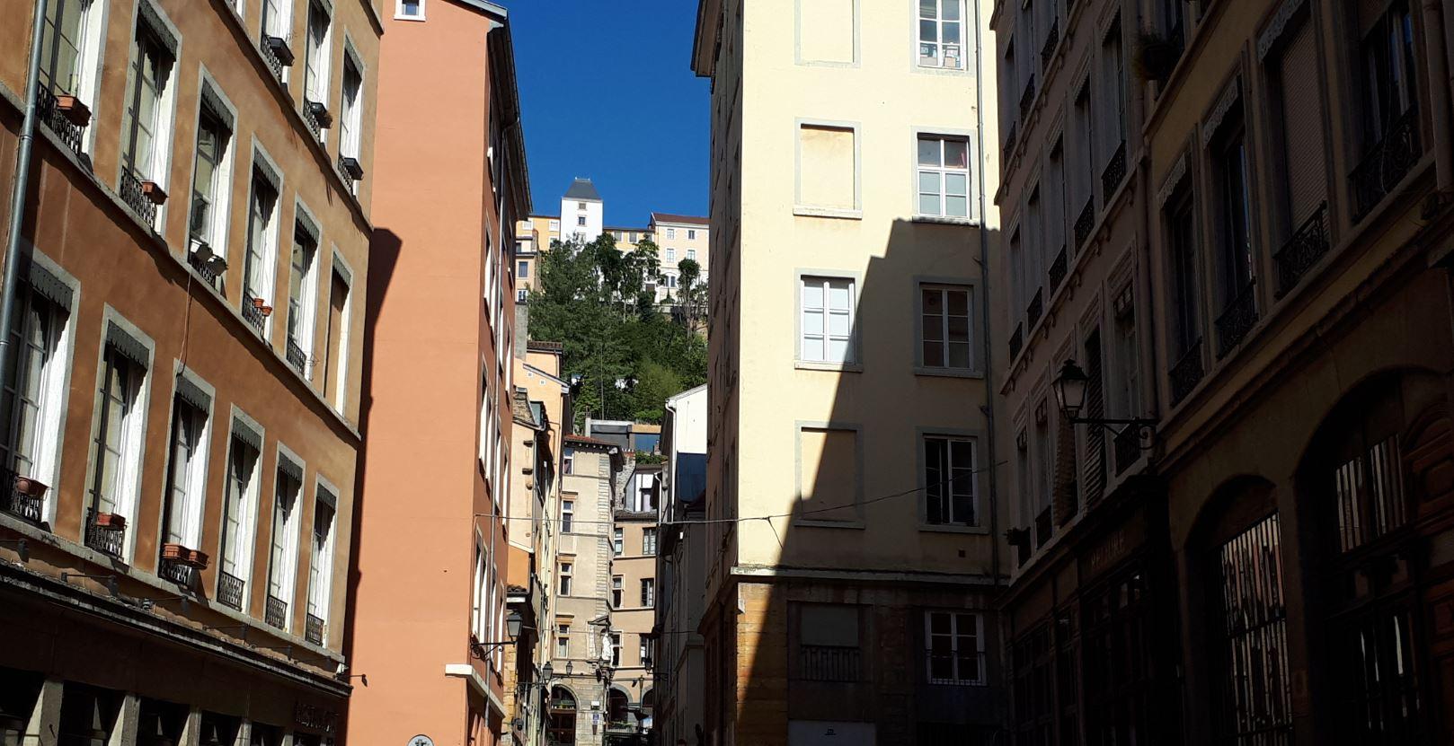 Quartier du vieux-Lyon