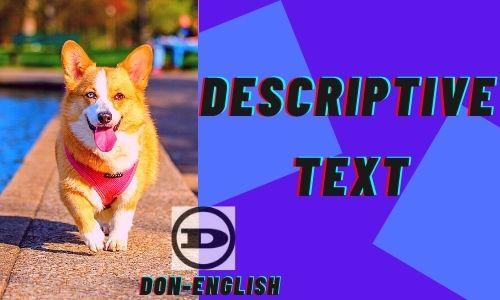 Descriptive Text Materi Bahasa Inggris Dan Contohnya