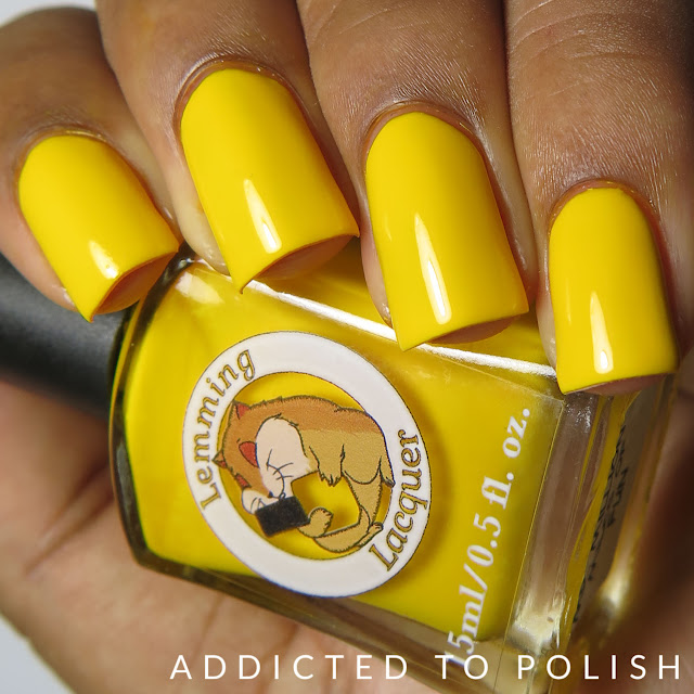 Lemming Lacquer Mr. Million Miles of Fun Creme-nally Dynamic Collection