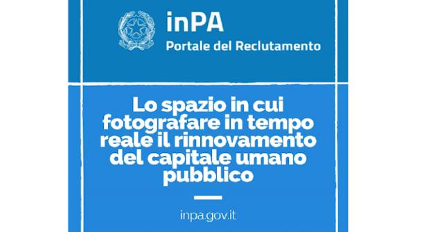 """Debutta in rete """"InPA - il Portale del Reclutamento"""", la porta digitale unica di accesso al lavoro nella Pubblica amministrazione"""